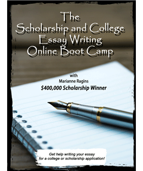 how to write an essay for college scholarships